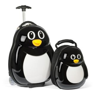 Travel Buddies 2 Piece Childrens Luggage Set