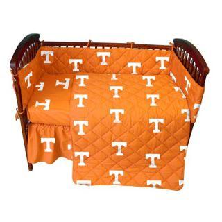 Orange & Yellow Crib Bedding