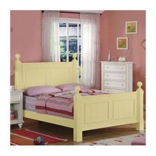 Riverside Furniture Splash of Color Panel Bed   112Bed S