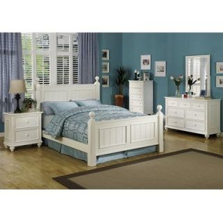 Riverside Furniture Splash of Color Panel Bed   112Bed A