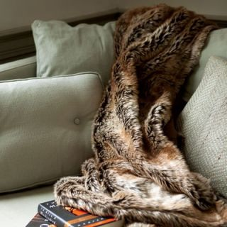 BedfordCottage Eskimo Faux Fur Throw