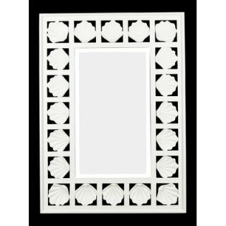 Kenroy Home Seabreeze Wall Mirror in Antique White