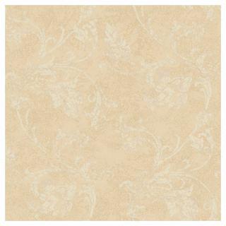 York Wallcoverings American Legacy Textured Scroll Wallpaper