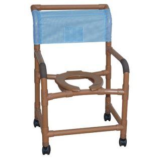 MJM International Deluxe Wide 22 Shower Chair