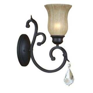 Yosemite Home Decor Jessica 13.75 x 5.5 One Light Wall Sconce in