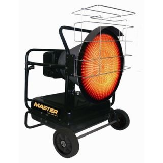 Master 125000 BTU Kerosene Radiant Heater   MH 125 OFR