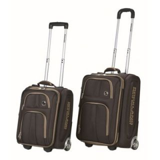 Rockland Polo Equipment 2 Piece Luggage Set