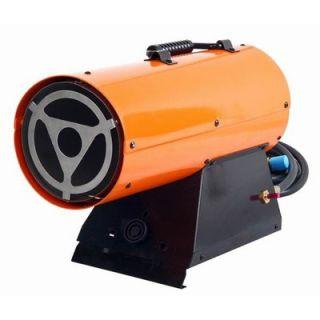 All Pro 40 000 Btu Portable Forced Air Propane Heater Spc