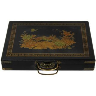 Oriental Furniture Mahjong Set Box   LQ MAHJONG