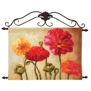 Manual Woodworkers & Weavers Floral Canvas Art