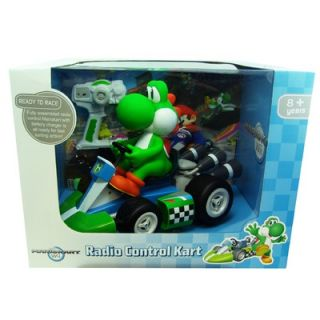 Goldie Marketing Super Mario   Yoshi Radio Control Kart, 1/8 Scale
