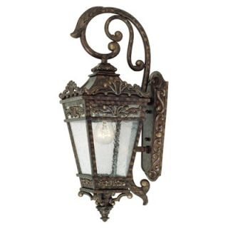 Savoy House Maguire Outdoor Wall Lantern in New Tortoise Shell   5