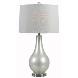 Kenroy Home Lucy One Light Table Lamp   32043MP / 32043PWH