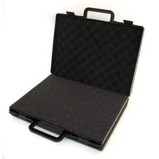 Platt Slick Large Attache Case in Black
