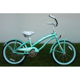 Greenline Bicycles 20 Single Speed Beach Cruiser Bike   BC 2006(L)