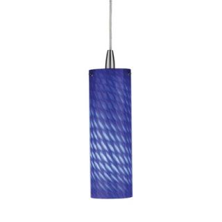 Philips Forecast Lighting Marta Wall Sconce Shade in Marta Blue Glass