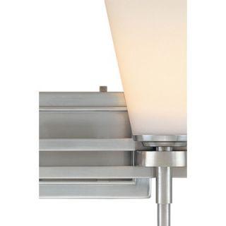 Dolan Designs Luradel Vanity Light in Satin Nickel