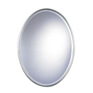 Feiss Westminster Oval Mirror in Pewter   MR1049PW
