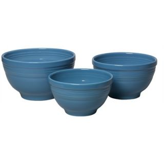 Fiesta® Peacock 3 Piece Baking Bowl Set