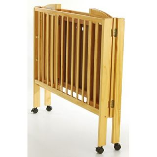 Dream On Me 3 in 1 Portable Folding Crib in Natural