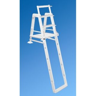 Ocean Blue Products Outside Ladder for Grand Entrance Above Ground