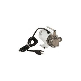 Little Giant Non Submersible, Self Priming Plated Brass Transfer Pump