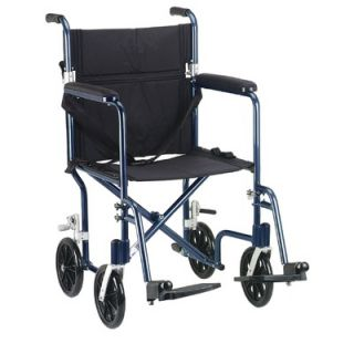 Drive Medical Deluxe Fly Weight Transport Chair