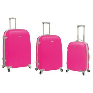 Travelers Club Barnet 3 Piece Expandable ABS Set with 360° 4 Wheels