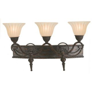 Yosemite Home Decor Isabella Three Light Vanity Light in Earthern