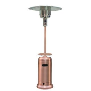 AZ Patio Heaters Tall Propane Patio Heater with Table   HLDS01 CBT