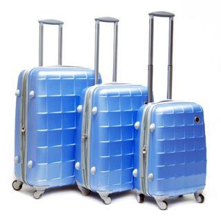 CalPak Napoleon Expandable Hardsided 3 Piece Luggage Set