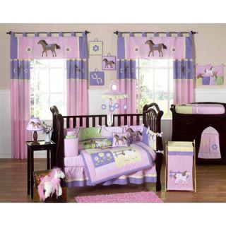 Sweet Jojo Designs Pony 9 Piece Crib Bedding Set