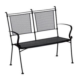 Woodard Modesto Wrought Iron Garden Bench