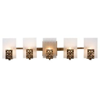 Varaluz Recycled Dreamweaver Bath Light   Five Light
