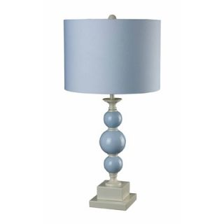 Sterling Industries Pale Blue Stacked Ball Table Lamp   111 1106