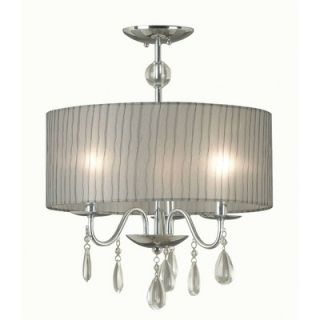 Kenroy Home Arpeggio 3 Light Drum Pendant