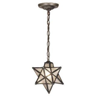 Meyda Tiffany Moravian Star 1 Light Mini Pendant
