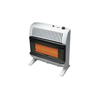 30000 BTU Natural Gas Radiant Vent Free Wall Mount Heater