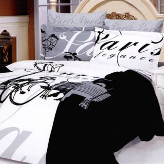 Le Vele Ellysee 6 Piece Full / Queen Duvet Cover Bed in a Bag Set