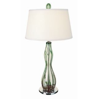 Trend Lighting Corp. Venetian One Light Table Lamp in Polished Chrome