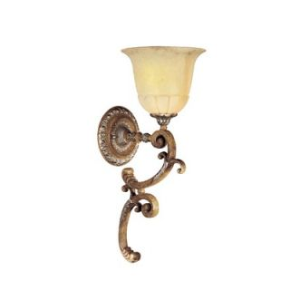 by Minka Cantabria One Light Wallchiere in Tuscan Patina   N6341 196