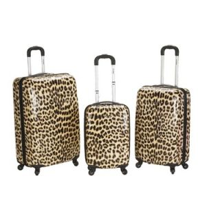Rockland Leopard 3 Piece Upright Set   F196 LEOPARD