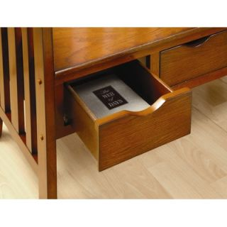 Hokku Designs Crest Solid Wood Entryway Storage Bench   JEG CO74