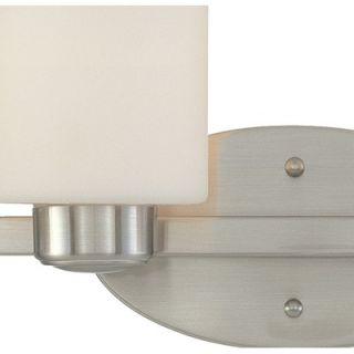 Dolan Designs Brookings Vanity Light in Satin Nickel