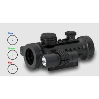 BSA Optics Illuminated Red Dot with Laser and Light   STSRGBD30LL