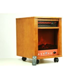 Dr. Infrared heater Infrared Heater Fireplace 1500W with Dual Heating