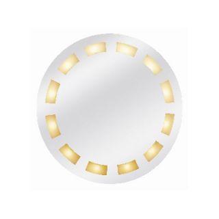 Access Lighting Reflections Twelve Light Round Illuminated Mirror with