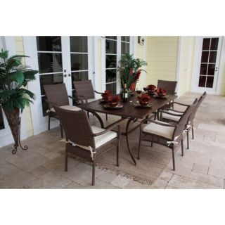 AIC Garden & Casual Star 7 Piece Dining Set   I202 67S 06