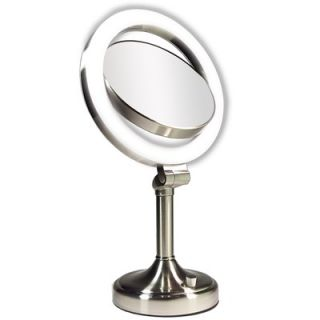 revlon tri fold lighted make up vanity mirror. Black Bedroom Furniture Sets. Home Design Ideas