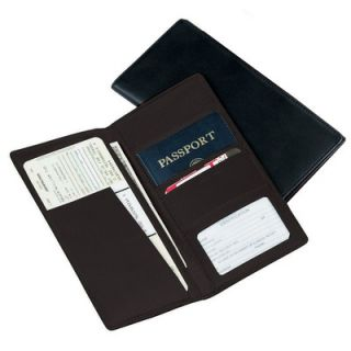 Royce Leather Man Made Leather Passport Ticket Holder   211 10